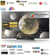"טלוויזיה 55"" 4K HDR ULTRA HD Android TV תוצרת SONY דגם KD-55XD8005BAEP"