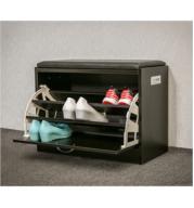 שידת התארגנות וישיבה מרופדת הכוללת תא לאחסון נעליים בשלושה צבעים לבחירה מבית HOMAX