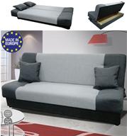 ספה אירופאית נפתחת למיטה רחבה עם ארגז מצעים HOME DECOR דגם גאס