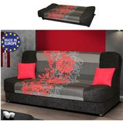 ספה אירופאית נפתחת למיטה רחבה עם ארגז מצעים HOME DECOR דגם ליה
