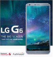 """סמארטפון 32GB מסך 5.7"""" מעבד המתקדם ביותר מצלמה כפולה 13MP דגם LG G6 H870 + שעון חכם מתנה"""