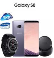 """סמארטפון 5.8"""" 64GB מצלמה 12MP תוצרת Samsung דגם Galaxy S8"""
