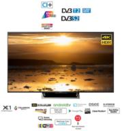 """טלוויזיה 65"""" Full HD Android TV 4K מסגרת כסופה תוצרת SONY דגם KD-65XE8596"""