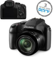מצלמה דיגיטלית WiFi סופר זום עם זום אופטי עד X60 תוצרת Panasonic דגם Lumix DC-FZ80 + כרטיס 16GB