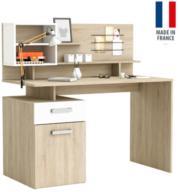 שולחן כתיבה משולב מדפים ויחידות אחסון תוצרת צרפת HOME DECOR דגם מליסיה