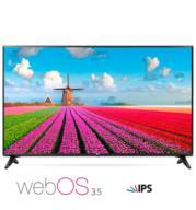 טלוויזיה חכמה 49 אינץ' LED Smart TV ברזולוציית Full HD עם פאנל IPS מבית LG דגם 49LJ550Y