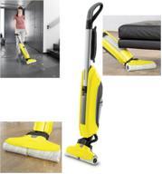 הקץ לספונג'ה !  מכונת ספונג'ה לשטיפה ושאיבת רצפות ופרקטים תוצרת KARCHER דגם FC5