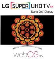 """טלוויזיית """"65 LED Smart TV 4K Ultra HD ופאנל IPS בטכנולוגית Nano Cell תוצרת .LG דגם 65SJ800Y"""