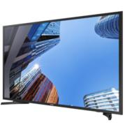 """טלויזיה """"49 FULL HD TV שטוחה מסגרת דקה תוצרת SAMSUNG דגם UE49M5000"""