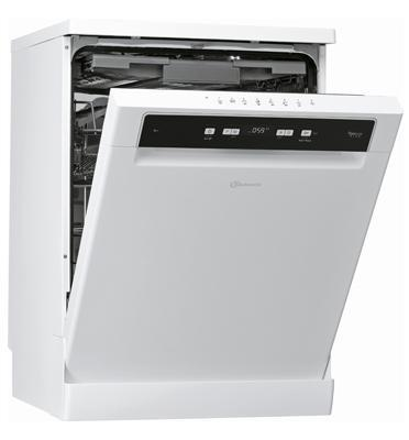 מדיח כלים עומד 14 מערכות כלים 8 תוכניות צבע לבן תוצרת Bauknecht דגם BFC3C26PFIS