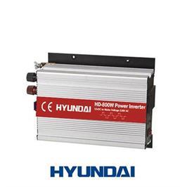 ממיר מתח חשמלי 800W מ-12V ל-220V לרכב מתאים לשטח,טיולים מבית HYUNDAI דגם HD-800W