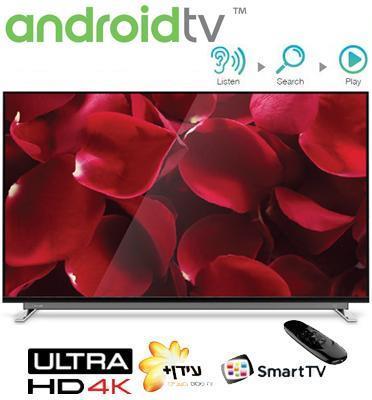 """טלויזיה """"65 Ultra HD 4K androidtv תוצרת TOSHIBA דגם 65U7750VQ"""