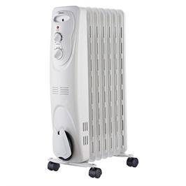 רדיאטור 7 צלעות הפועל בטכנולוגיית ה-Oil Filled Heating (מילוי שמן) תוצרת MIDEA דגם NY15EC-7L