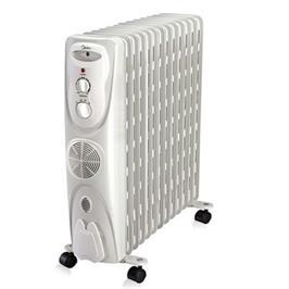 רדיאטור 11 צלעות (טורבו) הפועל בטכנולוגיית ה-Oil Filled Heating תוצרת MIDEA דגם NY23ECF