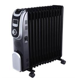 רדיאטור 13 צלעות הפועל בטכנולוגיית ה-Oil Filled Heating (מילוי שמן) תוצרת MIDEA דגם NY2513-13AL