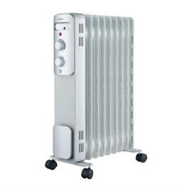 רדיאטור 9 צלעות הפועל בטכנולוגיית ה-Oil Filled Heating (מילוי שמן) תוצרת MIDEA דגם NY-2009