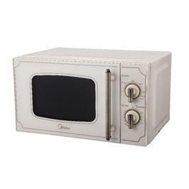 מיקרוגל בעל מערכת הפעלה מכאנית 20 ליטר מסדרת ה-Retro Collection דגם MM720CJ7 תוצרת MIDEA