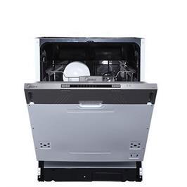 מדיח כלים רחב אינטגרלי מלא ל- 12 מערכות כלים 6 תוכניות תוצרת Midea דגם WQP12-7713E