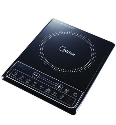 כיריים אינדוקציה יחיד 7 תוכניות בישול ולחצני טאץ' גימור שחור הספק 1650W תוצרת MIDEA דגם SKY1610