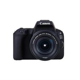 """מצלמה 24.2MP DSLR  מסך 3"""" צילום וידיאו full hd כולל עדשה 18-55 מבית CANON דגם EOS 200D"""