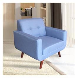 כורסא מעוצבת מבד בעיצוב רטרו HOME DECOR דגם מוניק