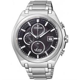 שעון סופר טיטניום סולארי לגבר ללא צורך בסוללה עמיד במים מבית CITIZEN דגם CI-CA035051E