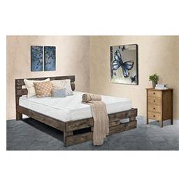 מיטה זוגית מעץ מלא מבית אולמפיה דגם ברבור+מזרן קפיצים אורתופדי והובלה והרכבה מתנה!!