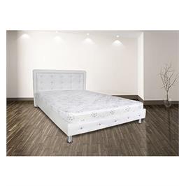 מיטה מרופדת בעיצוב נמוך בעלת ראש מעוצב קפיטו נמוך בעלת ראש מעוצב קפיטונג' מבית אולמפיה דגם 6008