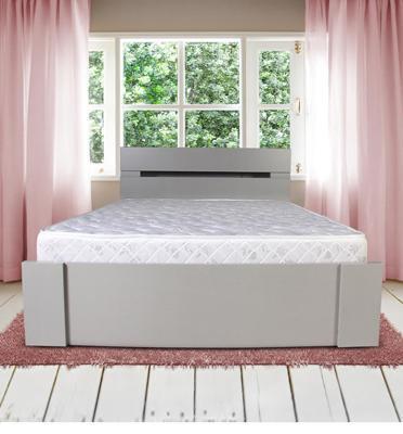 מיטה זוגית עשויה מלמין יצוק מבית אולמפיה דגם 7001 + מזרן אורתופדי מתנה והרכבה חינם!!!