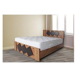 מיטת זוגית עשויה מלמין יצוק מבית אולמפיה דגם 7007