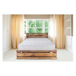 מיטה זוגית מעץ מלא מבית אולמפיה דגם 5001 +מזרן אורטופדי והרכבה במתנה!!