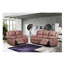 מערכת ישיבה 3+2 מעוצבת בסגנון מודרני 4 ריקליינרים תוצרת ויטוריו דיואני דגם פיגאטו
