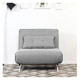 כורסא מעוצבת מרופדת בד ונפתחת למיטה HOME DECOR דגם נובו
