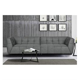 ספה רחבה 3 מ' מודרנית ומפנקת בעיצוב עשיר מבד יחודי רחיץ מבית  HOME DECOR דגם ברנדה