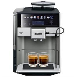 מכונת קפה אוטומטית,בעלת מערכת חימום ייחודית, תצוגה דיגטלית צבעונית תוצרת SIEMENS דגם TE655203RW
