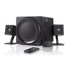 רמקולים למחשב+ סאבוופר תוצרת CREATIVE דגם Creative T4 Wireless 2.1 Speaker Black