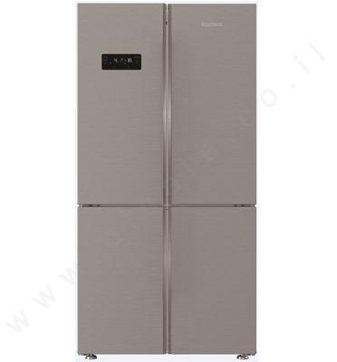 מקרר 4 דלתות 535 ליטר גימור נירוסטה מקפיא תחתון תוצרת Blomberg. דגם KQD1620X כולל מייצר קרח