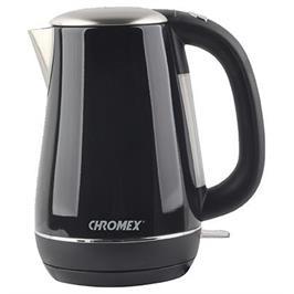 קומקום חשמלי נשלף 1.7 שחור תוצרת CHROMEX דגם CH-555B