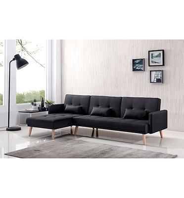מערכת ישיבה פינתית מאפשרת מגוון רחב של אפשרויות בבית,נפתחת למיטה זוגית תוצרת BRADEX דגם ENDO