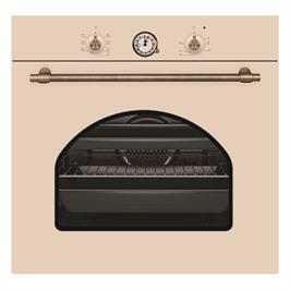 תנור אפיה בנוי 7 תכניות בעיצוב כפרי צבע בז' תוצרת Normande דגם NR-6009