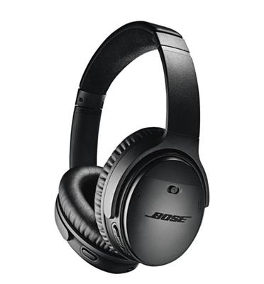 אוזניות אלחוטיות BLUETOOTH תוצרת .BOSE דגם Quietcomfort QC35 II שחור