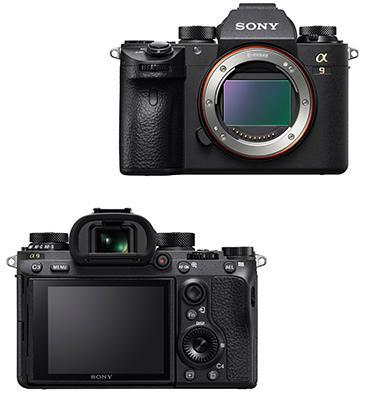 """מצלמת סטילס Full FramE 35 מ""""מ מסדרת אלפה בגוף עשויי מגנזיום 24.2MP תוצרת SONY דגם ILC-E9B"""