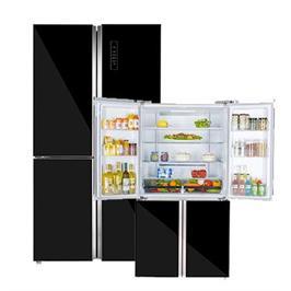 מקרר 4 דלתות מקפיא עליון בנפח 680 ליטר No -Frost טכנולגיית Inverter תוצרת NORMARNDE דגם ND990