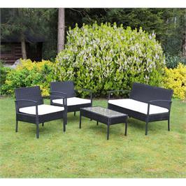סט ריהוט מושלם למרפסת או לגינה בעיצוב מודרני ומרשים  מבית Homax דגם קורפו