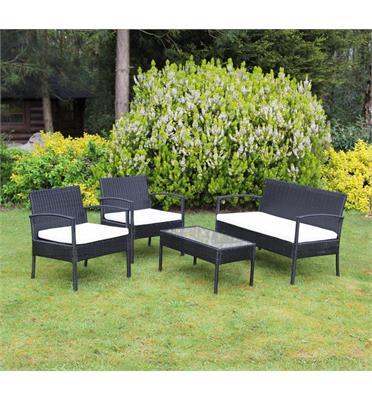 סט ריהוט מושלם למרפסת או לגינה מבית Homax דגם קורפו