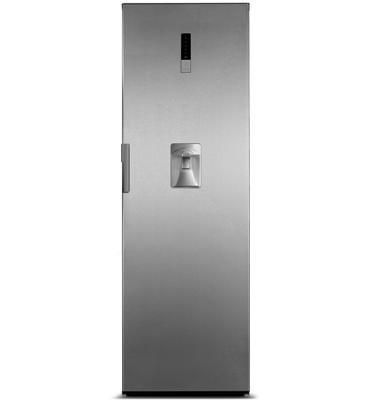 מקרר תאום 350 ליטר נירוסטה הפועל בשיטת ה-Non Frost תוצרת MIDEA דגם HS-455LWEN
