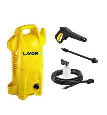 """מכונת שטיפה """"גרניק"""" לחץ 120 בר 80% חסכון במים  1700W מבית LAVOR דגם HPC  POWER 120"""