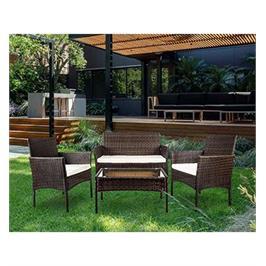 סט ריהוט מושלם למרפסת או לגינה מעוצב בצורה מודרנית מבית HOMAX דגם נקסוס