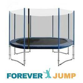 טרמפולינה 8 פיט 2.44 מטר עם רשת חיצונית סופר פרימיום FOREVER JUMP TOP