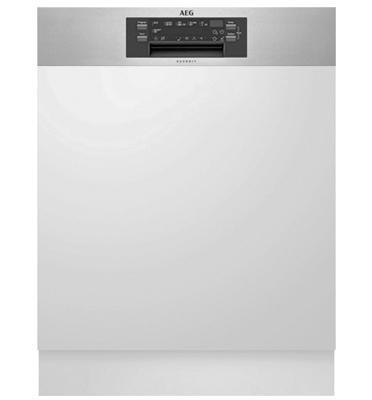 מדיח כלים חצי אינטגרלי Comfort Lift סדרה 6000 טכנולוגית ProClean™ תוצרת AEG דגם FEE62800PM